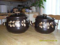 Denby Casserole Pots with Lids
