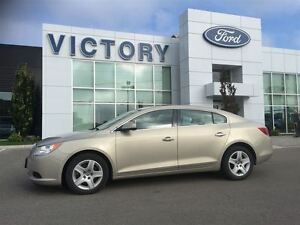 2010 Buick LaCrosse One owner low km local trade