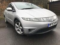 Fantastic Low Mileage Honda Civic 1.8 Automatic - 12 Months Mot