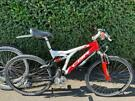 Claud Butler full suspension bike, hybrid tyres comes with spare off tyres, can deliver