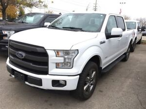 2016 Ford F-150 LARIAT,SUNROOF,LEATHER,TECH PKG,NAVIGATION