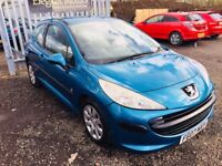 2007 Peugeot 207 1.4 ** Petrol ** NEW TIMING CHAIN **MOT June 2018 **Service History**Fully Serviced
