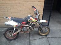 Pit bike quick sale all works