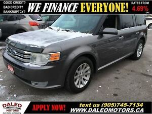 2009 Ford Flex SEL AWD 6 SEATER 154KM SUNROOF