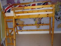 Flexa High bed with Sloping ladder