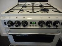 practically brand new NEWWORLD double all gas cooker..