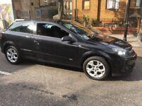 Black Vauxhall Astra sport hatch 1.7 Cdti diesel 2006. £800