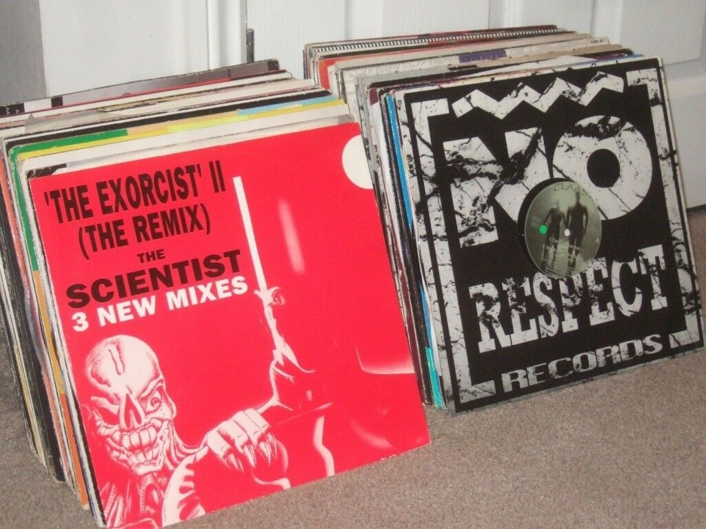 115 x 12 inch Old Skool / Rave / Techno / Hardcore Vinyl Records Collection  Job Lot!! | in Earlston, Scottish Borders | Gumtree
