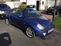 Ford street ka sport luxury 1.6 convertible 2003 facelift model mot august 2018 some history