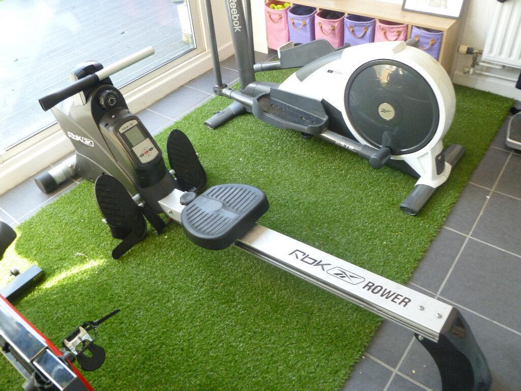 Rowing Machine Reebok