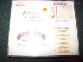 VARIOUS ARTISTS – BOOGIE NIGHTS – DOUBLE CD