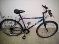 "Trek adult mountain bike 26""wheels 15 speed"