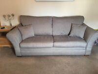 4 seater HARVEYS fabric sofa