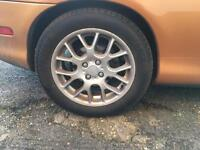 Set Of 4 Alloy Wheels And excellent 205/55/R16 tyres
