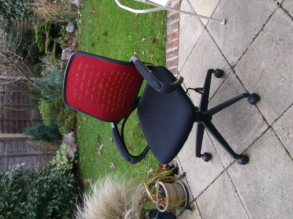 Mesh Office Chair from Staples - Red
