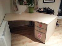 Big Oak Veneer Office Desk