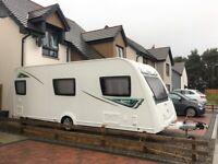 2017 Elddis Xplore 586 Caravan - 6 Berth With Fixed Bunk Beds