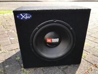 JBL 1000w Sub & JBL Amp