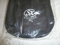 brand new SX electric guitar nylon gig-bag. Suitable Strat or Tele. Ideal Xmas present. Unopened.