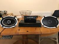 Car stereo speakers and sound box