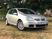 2008 VW GOLF MATCH BLUEMOTION 1.9 TDI** 10 STAMPS ** 103K MILES **3 MONTHS WARRANTY