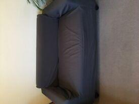 IKEA 3 seater sofa grey