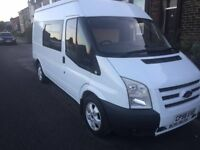 Ford Transit 110 t280 MWB half done camper project