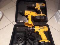 Dewalt drills - good working order