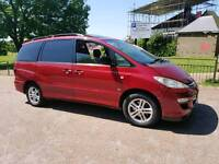 2005 Quick sale 7 seater toyota previa diseal 2litre (Manual)