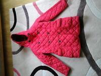 Girls Winter Coat Age 11-12