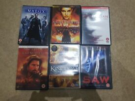 Matrix and other dvd
