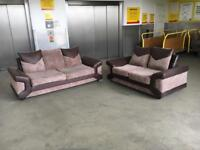 Comfy 3+2 seater sofa set •free delivery