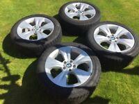 Original BMW X5 E70 Style 213 Alloy Wheels + M+S tyres