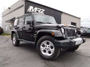2014 Jeep Wrangler Unlimited Sahara Unlimited - CUIR - GPS - FUL