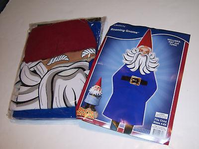 Garden Gnome Kids Costume (New 4-6x Travelocity Roaming Garden Gnome Child Costume)