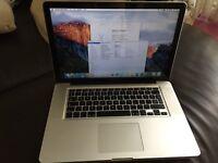 "Apple Macbook Pro 15"" Intel Core i5 6GB Ram 500GB HDD fully working"