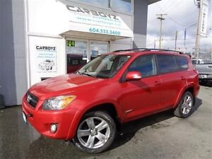 2009 Toyota RAV4 Sport 4WD, Leather, Sunroof, No Accidents!!