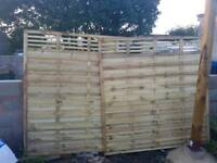 Two Grange Elite Lille fence panels