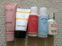 Bundle of lotions and shower gel