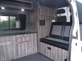 Ford Transit campervan conversion, not T4 or T5.