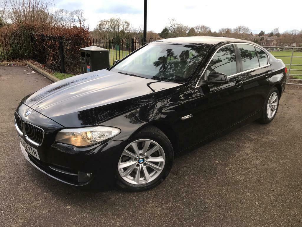 2012 Bmw 520d Efficient Dynamics F10 2 0 Diesel Manual Black In Luton Bedfordshire Gumtree