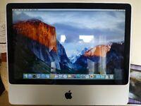 """iMac intel core 2 duo, 20"""" screen."""