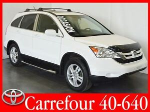 2011 Honda CR-V EX-L 4WD Cuir+Sieges Chauffants+Toit Ouvrant