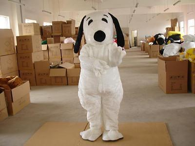 Cartoon Character Dog Mascot Christmas Party Costume Adult Cosplay Outfit Suit