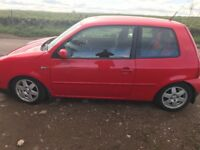 1.4 lupo. Low miles. 1 Year mot