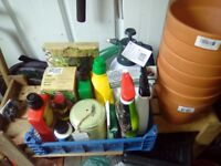 Collect of garden stuff