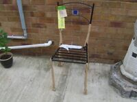 6 KITCHEN OR PATIO CHAIRS-NEW UNUSED