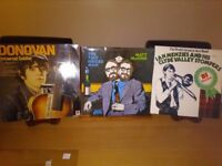 Vinyl Albums The Clyde Valley Stompers, Matt McGinn and Donovan.