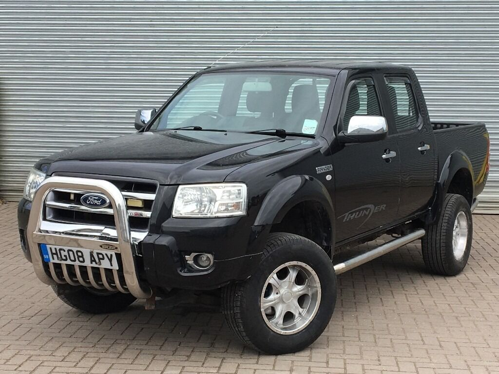 2008 ford ranger thunder 3 0 diesel engine automatic pick up truck no vat in poole. Black Bedroom Furniture Sets. Home Design Ideas