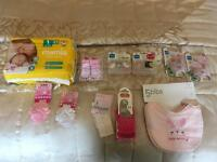 Baby Bundle 0-3 months (Girl) All items are new
